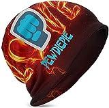 Rogerds Custom Kids Boys Girls Knit Pewdiepie Logo Logo Unisex Schädelkappe Hip Hop Beanie Hat Warm...