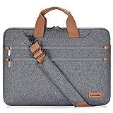 LONMEN 14 Zoll Laptop Hülle Wasserdicht Schultertasche Tasche Kompatibel mit 15' MacBook Pro 2019 /...