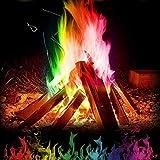 lindames Mehrfarbenflamme Pulver Flamme, Flammendekoration die im Freienfeuer Partei Versorgungen...