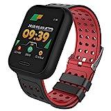 Amoy Smart Watch, Fitness Tracker, Activity Tracking Pedometer, Herzfrequenzmesser, Schlaf-Monitor,...