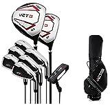 Golfschläger-Set Herren Golf Sport Komplettsets Einsteiger Full Golf Set Rod Titan VCT Dritte...