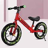 DFSSD Walking Training Fahrrad, Laufrad, aufblasbare Gummi Rad, einstellbare Sitzhöhe,...