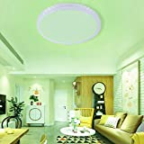 Pangdingk LED-Deckenleuchte, mehrere Szenariomuster RGB + CW Wi-Fi-Lampe AC85-265V Wi-Fi-gesteuerte...