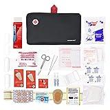 Erste-Hilfe-Set Prime mit 120 Artikel (digitalthermometer, antiseptische Lösung, physiologischen...