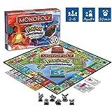 DFGHJKNN Monopoly Pokemon - Kartenspiel - Brettspiele - Familien-Multiplayer-Partyspiel - Englische...