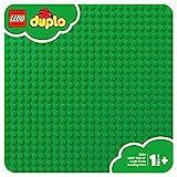 LEGO Duplo 2304 - Groe Bauplatte Kreatives Vorschulspielzeug, grn
