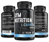 L-CARNITIN Kapseln hochdosiert 3000 L Carnitin vegan und ohne Zusätze Laborgeprüft Beliebt bei...