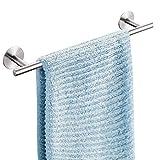 Handtuchhalter ohne Bohren, Dailyart Handtuchhalter Edelstahl Gebürstet 44cm Selbstklebend...