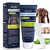 Enthaarungscreme Männer Intimbereich Haarentfernungscreme Frauen - Aloe Vera Hair Removal Cream...
