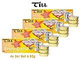 TILL Sicherheits-Brennpaste 4X 3er-Set  80 g (12 Stck)