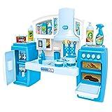 DRHYSFSA Kinderkche Little Kitchen Spielset Rollenspiel Kinderkochrollenspiele Spielzeug Set...