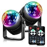 JALAL Holiday Light 3 Steuermodi RGB LED Party Effekt Disco Ball Licht Bühnenbeleuchtung...