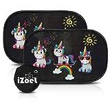 iZoeL Auto Sonnenschutz Baby mit Saugnapf Sonnenblende Kinder Autofenster Seitenscheibe...