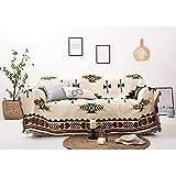 Decken Sucre Kuscheldecke Wendedecke 180x230cm,Sommerdecke Boho Baumwolle,Beige,Ideal Fürs...