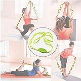 LZDseller01 strapazierfhiger Yoga-Grtel, Stretch-Out-Yoga-Gurt, Multi-Loop-Gurt, Yoga-Stretch-Gurt,...