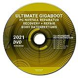 ULTIMATE BOOT RECOVERY+REPAIR BOOT DATENRETTUNG WINDOWS 10 bis XP DVD