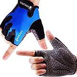 boildeg Fahrradhandschuhe Radsporthandschuhe rutschfeste und stodmpfende Mountainbike Handschuhe mit...