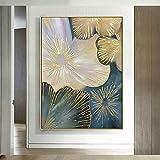 Moderne Blume abstrakte ölgemälde leinwand Kunst Geschenk Dekoration Wohnzimmer wandkunst...