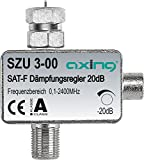 Axing SZU 3-00 SAT-Dmpfungsregler F-Anschluss (0,5-20 dB)