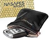 Autoschlüssel Schutz Keyless Tasche mit magnetisch-geräuschlosem Federverschluss ermöglicht 1...
