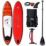 Aqua Marina Aquamarina Atlas - SUP - Stand Up Paddle Board mit Paddel, Leine, Magic Back Pack, und...
