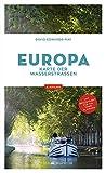 Europa: Karte der Wasserstraßen