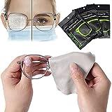 Beschlagen Brille Tücher Anti Nebel Tücher Nano Anti Nebel Stoff Wiederverwendbares Antibeschlag...