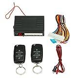Kmoon Universal Auto Türschloss Keyless Entry System Zentralverriegelung Fernbedienung Kit mit 2...