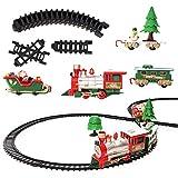 Elektrische Eisenbahn Set - 22 Teile, ideal für Weihnachtsgeschenke, beliebtes Kinderspielzeug, mit...