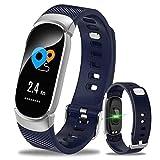 Sport Smart - Armband Ip68 Wasserdicht Dynamische Herzfrequenz - Blutdruck - Monitoring - Fitness...