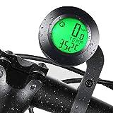 FRECOO Fahrradcomputer Kabellos, Fahrradtachometer mit 3 Hintergrundbeleuchtung, Wasserdichter...