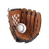 DRHYSFSA-Sports Baseballhandschuh Softball-Handschuhe PU-Leder-Softball-Handschuhe...