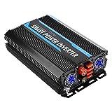 6000 Wechselrichter DC 12V bis 220V AC Wechselrichter 12000W Spitzenleistung Auto Wechselrichter...