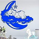 BailongXiao Schlafbär wandkunst Aufkleber wandaufkleber Material DIY wandkunst Dekoration...