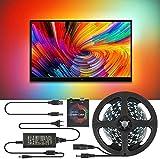 TV LED Hintergrundbeleuchtung, DIY TV PC Traumbildschirm USB LED Streifen HDTV Computer Monitor...