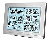 Technoline Wetterstation WS 9565, Silber, modernes Design