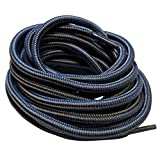 B&Q 3 pairs Heavy duty round boot laces shoelaces for hiking walking construction safety work boots...