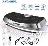 ANCHEER Vibrationsplatte 3D Wipp Vibrations Technologie for Fett Abbauen und Body Shaping von...