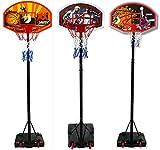 Best Sporting Basketball-Stnder, hhenverstellbar, wetterfest, Basketballkorb mit Rollen...