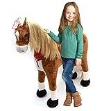 XXL Plüschpferd 105cm - Elsa, das riesige Reitpferd für Kinder, ein tolles Stehpferd Spiel-pferde...