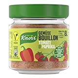 Knorr Bouillon Tomate&Paprika Süß&Fruchtig 8 Liter Glas, 96 g