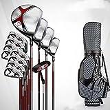 ZDAMN Golfschlägerset Golf Club Golf Set Herren Set Golf 3 Woods +1 Ironwood +8 Irons +1 Putters...