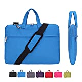 KUSDET Laptop Sleeve 14 Inch Shoulder Bag Multi-Functional Notebook Carrying Case with Strap for...