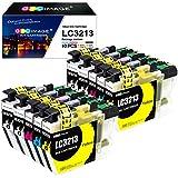 GPC Image LC3213 Druckerpatronen Ersatz für Brother LC-3213 LC-3211 LC3211 Patronen für Brother...