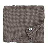 Linen & Cotton Premium-Qualität Waffel Tuch Saunatuch Strandtuch Handtücher Badetücher...