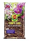 COMPO SANA Orchideenerde mit 8 Wochen Dnger fr alle Orchideenarten, Kultursubstrat aus Pinienrinde,...