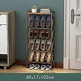 Schuhschrank,Schuhregal,Mehrschichtspeicher,Regale mit großer Kapazität,Aus hochwertigem Metall...