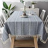 N/A MPDF Home Decoration Tischdecke Grauer, einfarbiger Ausschnitt Tischdecke Tischdecke Tischdecke...