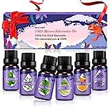 Ätherische Öle Set, Duftöle für Diffuser und Aromatherapie, 100% Reines naturrein Aroma-Öl, 6...