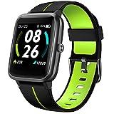 LIFEBEE Smartwatch GPS für Herren Damen, Fitnessuhr 5ATM Wasserdicht, Fitness Tracker 14 Sportmodi...